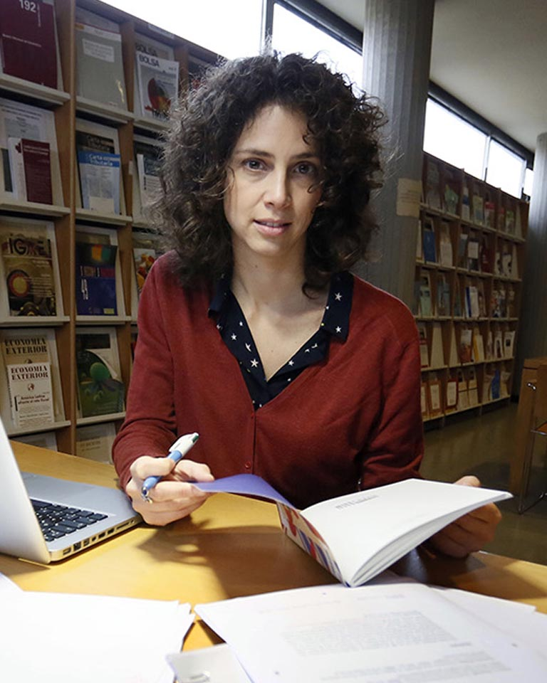 Carolina Blunchart, historiadora.KIKE PARA.