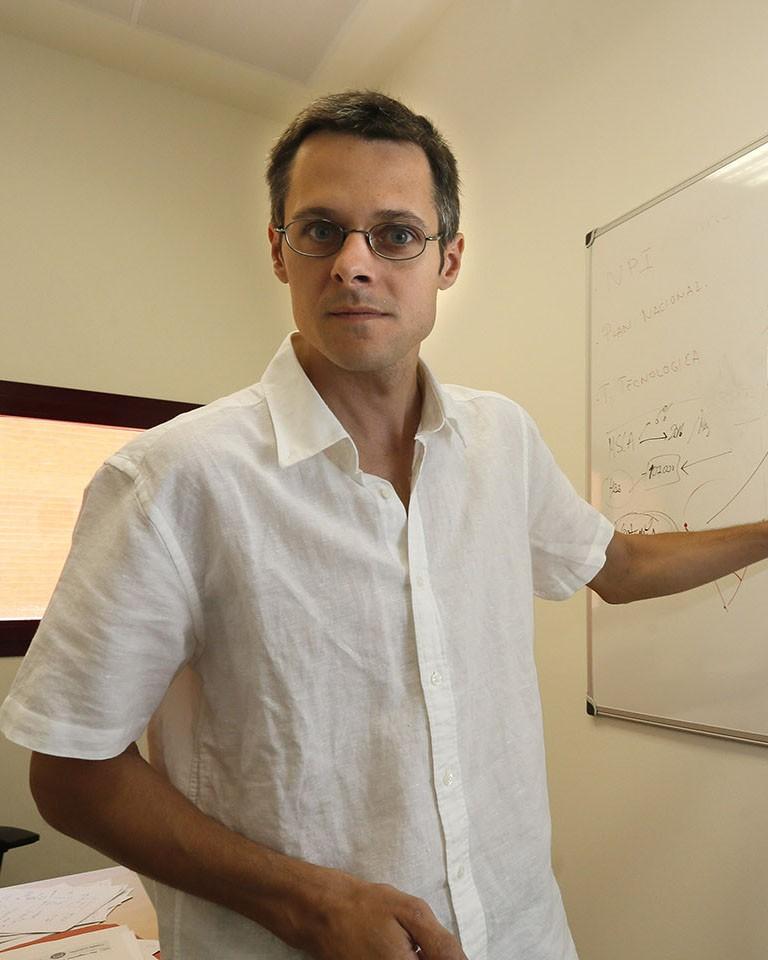 Gonzalo Sanchez, beneficiario de las ayudas Fundación BBVA en TIC.KIKE PARA.