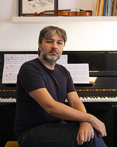 Carlos Fontcuberta, compositor y becario Leonardo de Música y Ópera 2019