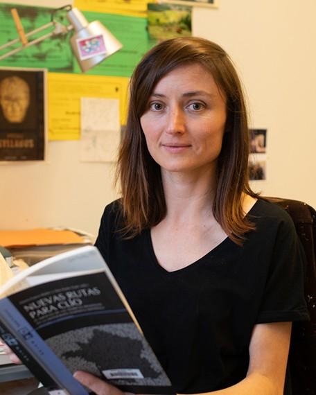 Núria Araüna, professora lectora Departament d'Estudis de Comunicació de la Universitat Rovira i Virgili, facultat de Lletres.