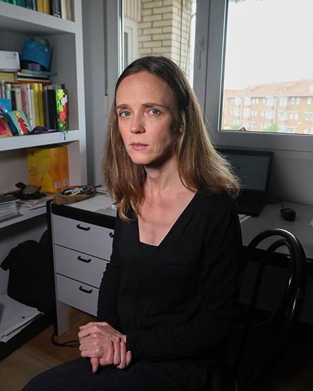 Olga Batiukova, becada Leonardo en la categoria de Humanidades.KIKE PARA.