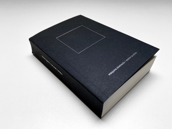 Máquina abstracta (book) Paperback format and silver stamping, 320 pages, 135 illustrations, 10,5x15 cm. 2020